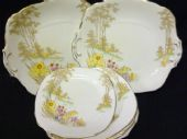 Royal Stafford Serving plates x 2 and TEN tea plates